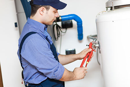 water heater install repair